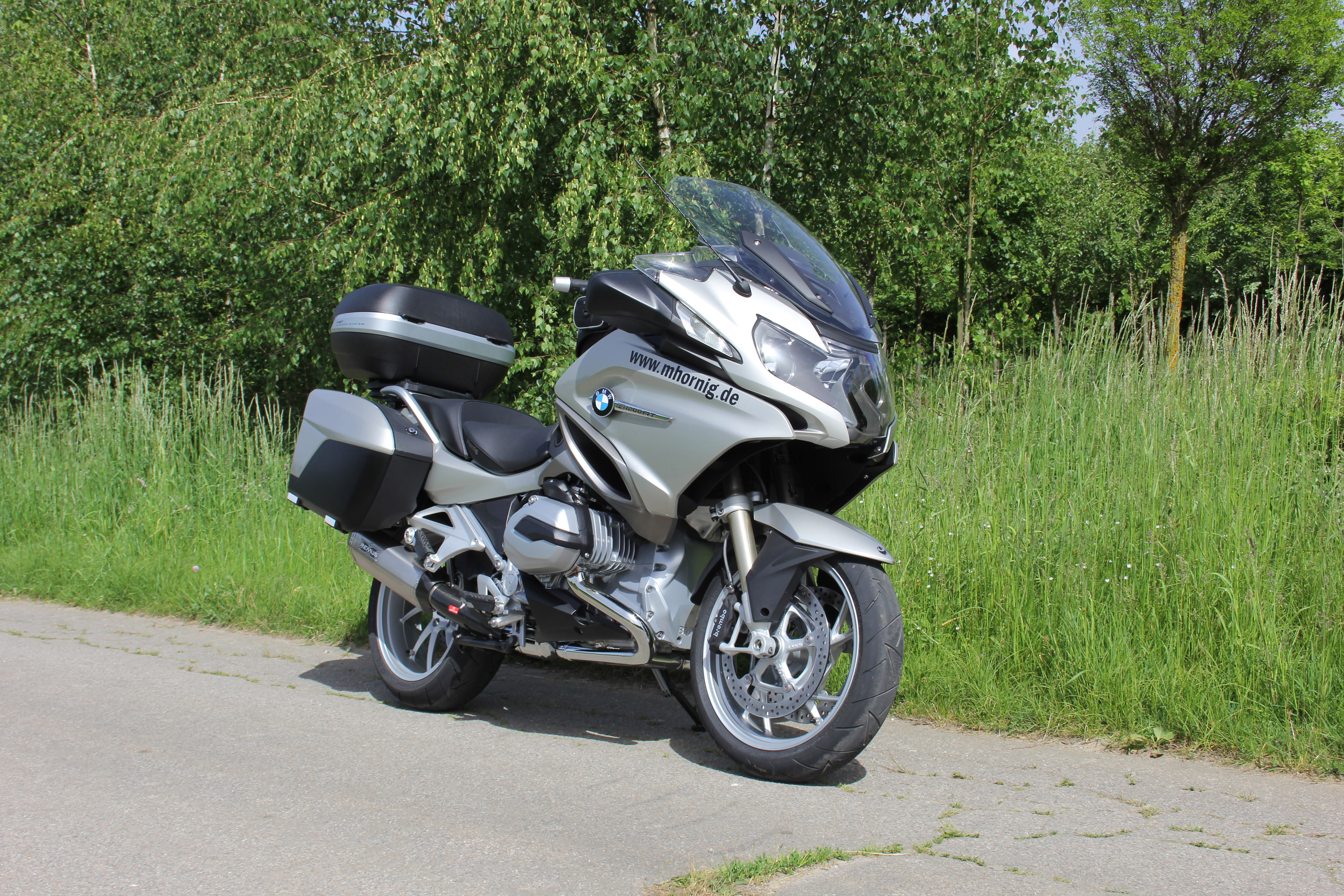 bmw r1200rt lc conversion par hornig la tourer. Black Bedroom Furniture Sets. Home Design Ideas