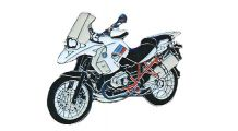 BMW R1200GS, R1200GS Adventure & HP2 Épinglette R 1200 GS Rallye