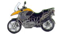 BMW R1200GS, R1200GS Adventure & HP2 Épinglette R 1200 GS (orange)