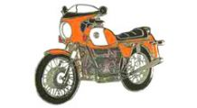 BMW R 80 Model Épinglette R 90 S (orange)