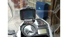 BMW R1200GS, R1200GS Adventure & HP2 GPS Mount (TomTom/Zumo)