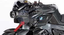 BMW K1300R Entrée d'Air Carbone