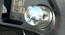 BMW R1200RT (2005-2013) Capuchon en chrome III