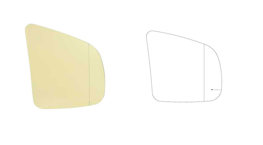 verres de r troviseur angle mort pour bmw k1200lt accessoires moto hornig. Black Bedroom Furniture Sets. Home Design Ideas