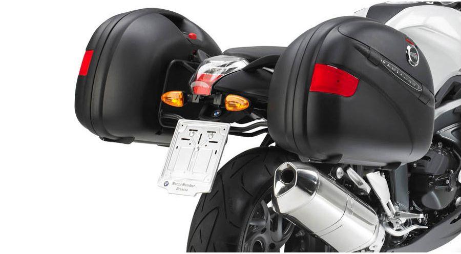 support pour valise lat rale pour bmw k1300s accessoires moto hornig. Black Bedroom Furniture Sets. Home Design Ideas