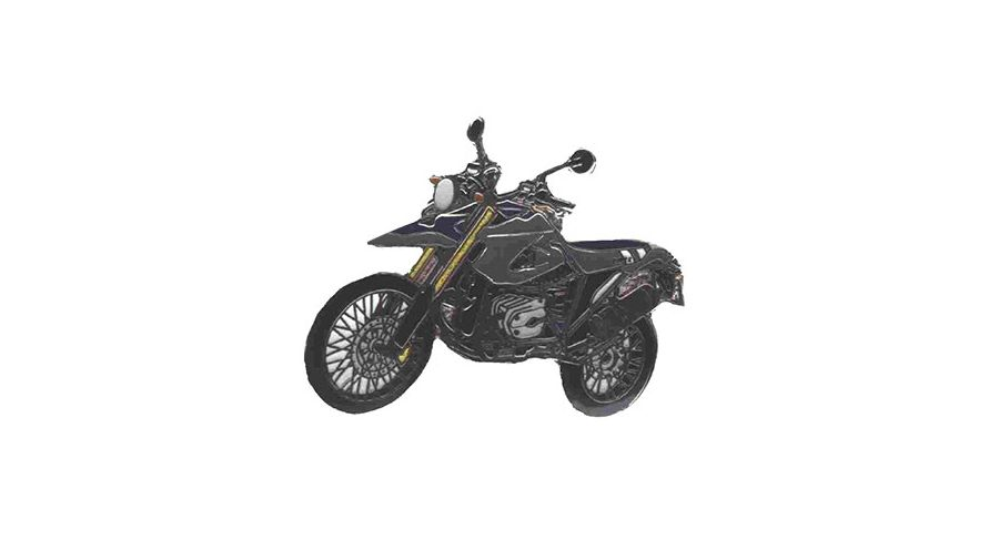 BMW R1200GS, R1200GS Adventure & HP2 Épinglette HP2 Enduro