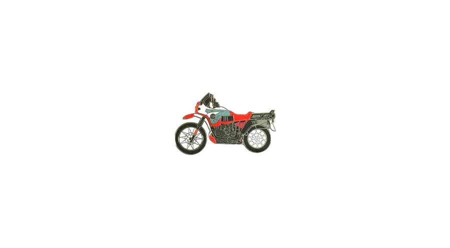 BMW R 100 �pinglette R 100 GS PD (rouge)