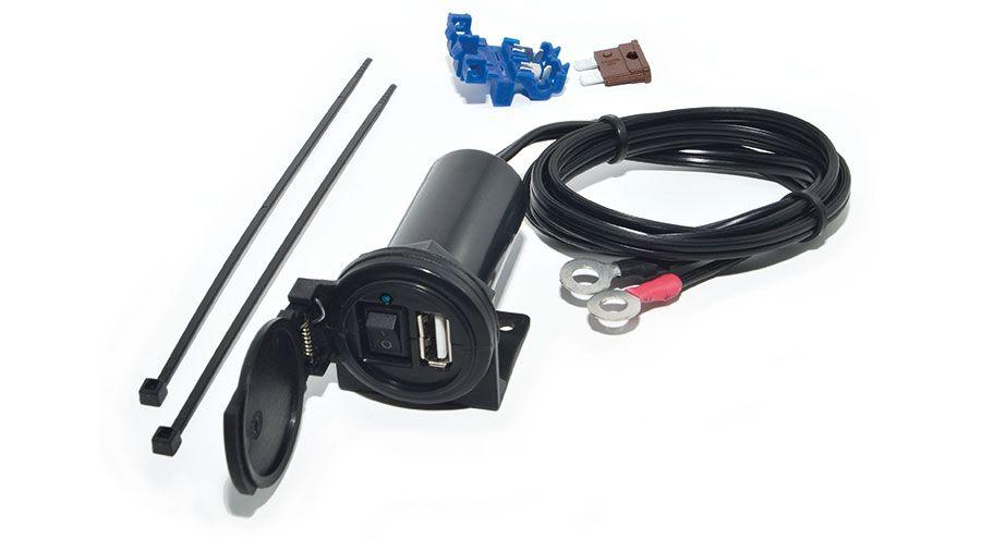 prise usb avec interrupteur pour bmw r1100s accessoires moto hornig. Black Bedroom Furniture Sets. Home Design Ideas