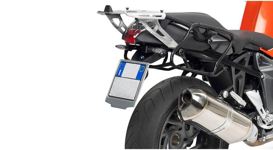 support valise lat rale pour bmw k1300r accessoires moto hornig. Black Bedroom Furniture Sets. Home Design Ideas