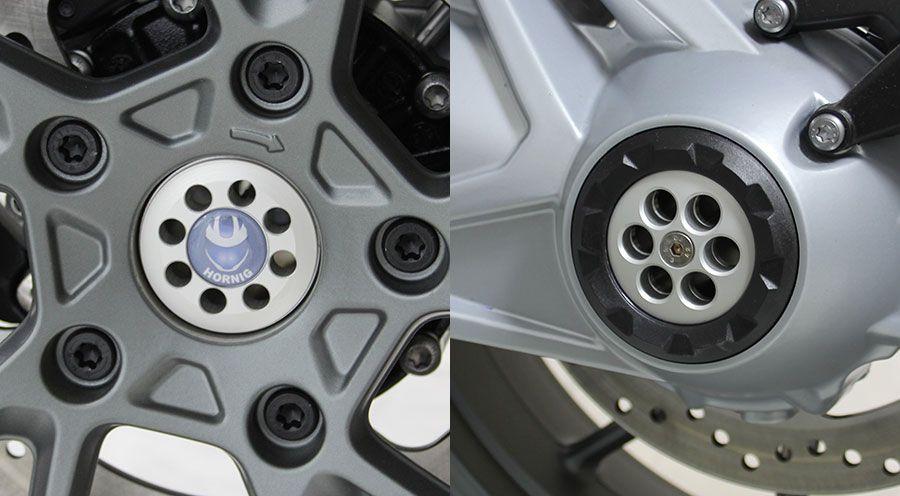 couvercle centre roue arri re pour bmw r 1200 rt lc 2014 accessoires moto hornig. Black Bedroom Furniture Sets. Home Design Ideas