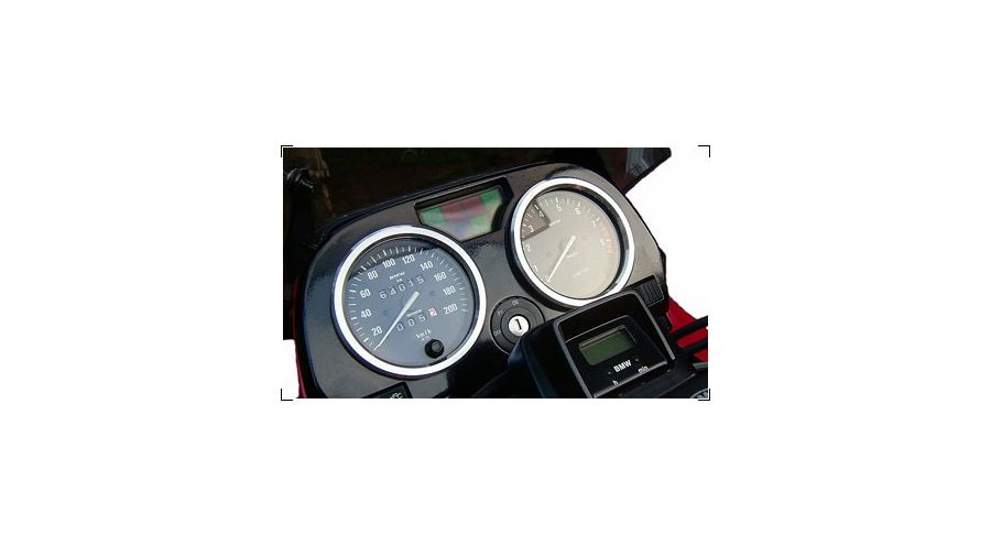 anneaux pour bo tier d 39 indicateur de vitesse pour bmw r 100 accessoires moto hornig. Black Bedroom Furniture Sets. Home Design Ideas