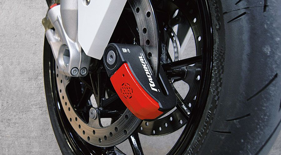 BMW S1000R Alarm Disc Lock RK15