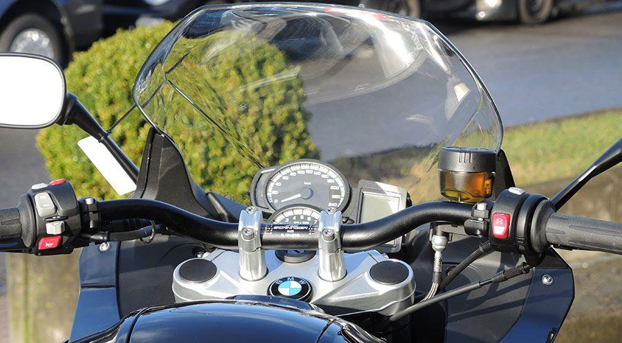 guidons superbike f800gt pour bmw f800gt accessoires moto hornig. Black Bedroom Furniture Sets. Home Design Ideas