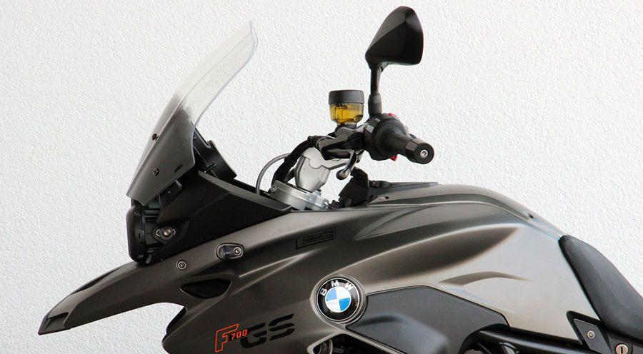 pare brise touring pour bmw f700gs accessoires moto hornig. Black Bedroom Furniture Sets. Home Design Ideas