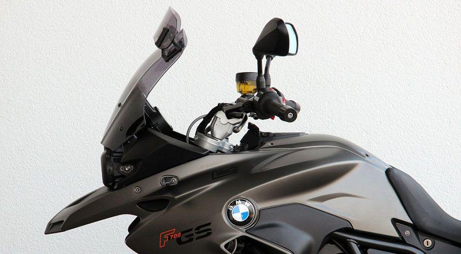 pare brise touring vario pour bmw f700gs accessoires moto hornig. Black Bedroom Furniture Sets. Home Design Ideas