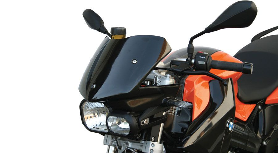 pare brise en v pour bmw f800r 2006 2014 accessoires moto hornig. Black Bedroom Furniture Sets. Home Design Ideas