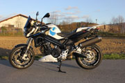 F800R conversion de Hornig